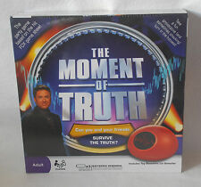 The Moment of Truth Lie Detector Test NEW Party Game based on hit FOX game show