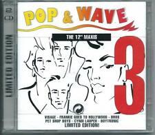 "POP & WAVE The 12"" MAXIS 2-CD FLASH & THE PAN ICEHOUSE PET SHOP BOYS BOYTRONIC"