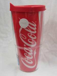 Coca-Cola Tervis 24 oz Tumbler with Lid - FREE SHIPPING!