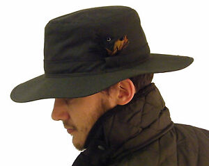 Wax Cotton Hat New Vintage Original Classic Country Olive Green XS S M L XL