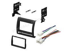 ★ 2005-2011 TOYOTA TACOMA DOUBLE DIN DASH KIT & WIRING HARNESS RADIO INSTALL ★