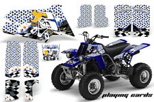 ATV Graphics Kit Quad Decal Sticker Wrap For Yamaha Banshee 350 87-05 PLAY CARDS