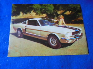 Original Ford Shelby Mustang GT350 Post Card