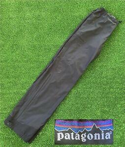 Patagonia CSS Travel Pants Polyester 84325 Black Men's Size Medium