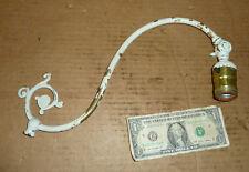 Vintage Bridge Lamp Top Arm Harp Part,Brass,Old Floor,Table Light,Adjustable