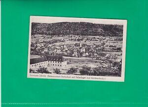 Bayern - Ebermannstadt - Polizeilager und Krankenhaus - sw-Postkarte - n. gel.