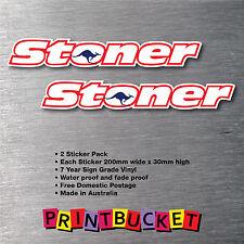 Stoner kangaroo 2 pack sticker quality 7 year vinyl water/fade proof casey 27