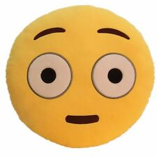 "USA SELLER Emoji Pillow 12"" Inch Large Yellow Smiley 30cm Emoticon (Daze) Toy"