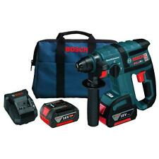 Bosch 18 Volt Lithium-Ion 3/4in SDS Plus Cordless Rotary Hammer Drill Driver Kit