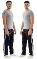 Mens Jogging Bottoms Trousers Gym Sport Track Pants Elasticated Joggers