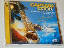 LOT 2 CD CAPTAIN COOK saxophone UND SEINE SINGEN SAXOPHON schlager TRAUMMELODIEN