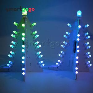 DIY Light Control Full Color LED Big Christmas Tree Tower Electronic Kits BSG