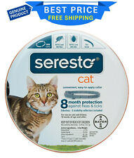 Seresto 8 Month Flea & Tick Prevention Collar for Cats & Kittens