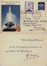 PIO XII-VEDUTE 1953 C12.2-CP 35 lire VARIETA DENTELLATURA spostata - Usato