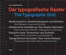 The Typographic Grid by Hans Rudolph Bosshard (Hardback, 1999)
