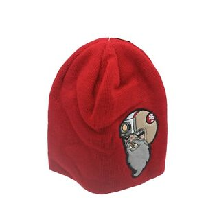 San Francisco 49ers Official NFL Kids Youth Boys (8-20) OSFM Winter Beanie Hat