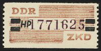 DDR-Dienst, B 29 HP, Berlin, tadellos postfrisch, Befund Paul, Mi. 220,-