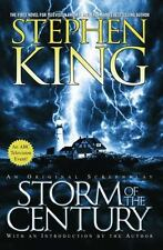 STORM OF THE CENTURY Stephen King FREE SHIP paperback book *SCREENPLAY* steven