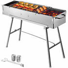 BBQ Charcoal Grill 32'' Party Griller Stainless Steel BBQ Garden Camping Grill photo