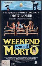 Week-end senza il morto (1992) VHS Penta