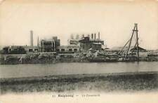 Cement Factory Haiphong Vietnam Indochina VTG Postcard