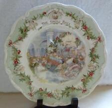 """Royal Doulton Brambly Hedge il Snowball piatto da collezionisti 8"""" Jill Barklem in Scatola"""
