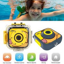 Children Kids Digital Sport Camera Diving Underwater Waterproof Video HD 720P