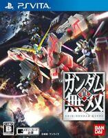 USED PS Vita Shin Gundam Musou PSV 42303 JAPAN IMPORT