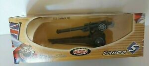 Solido Military Batailles-Battles Collection 105MM Howitzer Cannon Gun 6228