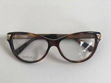0d36010784fd Authentic Gucci Womans Full Rim Cat Eye Eyeglasses GG3652 Havana Gold Size  54mm