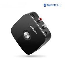 Receptor Bluetooth Inalámbrico a 2RCA Adaptador Música Auxiliar Para Coche Altavoz Auriculares