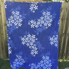 "Guldlin Blom Ikea Twin Duvet Cover Pillowcase Comforter 62"" x 82"" Blue Flowers"