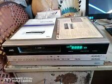 Vintage Jvc Hr7700ek VHS Cassette Recorder & instructions Manuel