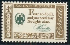 #1140 4¢ Ben Franklin Signature Credo, Lot 400 Mint Stamps Spice Your Mailings