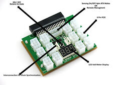 X20 12 Port Chain Sync Breakout Board for SuperMicro Server Power Supply