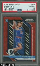 2018 Panini Prizm #217 Ruby Wave Kevin Knox RC Rookie PSA 10 GEM MT