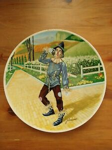 Knowles Collector Plate - The Wizard of Oz - If I Only Had A Brain
