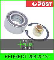 Fits PEUGEOT 208 2012- - Front Wheel Bearing 37x72x33