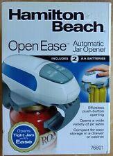Hamilton Beach Open Ease Automatic Jar Opener, Model 76801 New