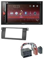 Pioneer DVD CD Bluetooth USB MP3 2DIN Autoradio für BMW 3er E46 mit großem Navi