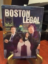 BOSTON LEGAL:  SEASON TWO (7 DISC DVD SET,2006) Mfg. Sealed