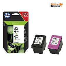 Neu Original HP 62 Tintenpatrone Combo Schwarz/Farbe Officejet 5740 Envy 5540