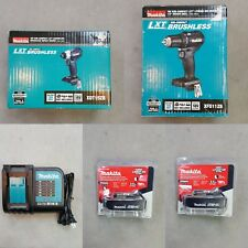 New Makita Cordless Impact Driver Drills Combo Kit 18 Volt 2 Battery W/Charger!!