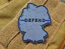JTG  DEFEND Patch, Thin Blue Line, special edition / JTG 3D Rubber Patch