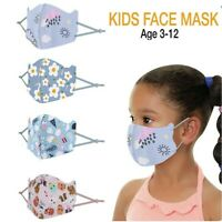 4Pcs Outdoor Unisex Mouth Face Cover Washable Reusable Mask Kid Adult