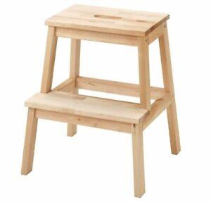 Ikea BEKVÄM Tritthocker Sitzhocker Hocker Holz Birke  50cm
