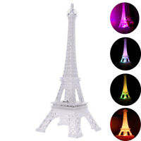 2X Creative LED Night Eiffel Tower Shape Night Lamp Chic Table Light Decor