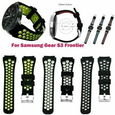 22mm Silicone Band Wrist Strap Sports Bracelet For Samsung Gear S3 Frontier New