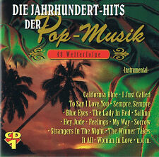 Die Jahrhundert-Hits der Pop-Musik - 48 Welterfolge Instrumental CD ( 2CD )