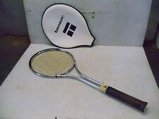 Old Vintage Tensor Aluminum Tennis Racquet Racket & Cover